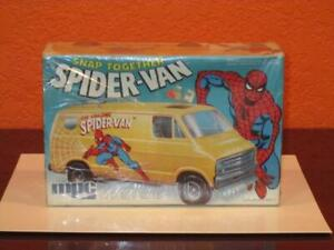 1978 MARVEL COMICS SPIDER-MAN SNAP TOGETHER VAN MPC MODEL KIT FUNDIMENSIONS MIB