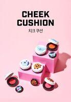 BTS BT21 X VT COSMETIC Cheek Blusher Cushion 3 Colors K-Pop goods