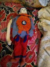 "Ceramic head soft body asian doll 28"""