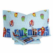 Completo Lenzuola Avengers Marvel per letto Singolo U010