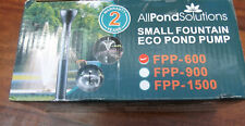 Pond Fountain Pump by All Pond Solutions. New