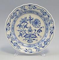 8440076 Piatto Porcellana Meissen Blu Cipolla Forma Neuer Scollatura D 22 CM