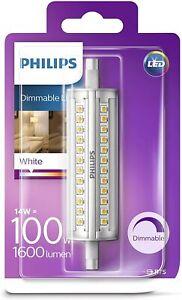 Philips LED R7S 14W = 100W 118mm dimmbar Stab 1600 Lumen Leuchtmittel Lampe