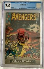 Avengers #23 CGC 7.0 John Romita Inks - 1st App. Ravonna Renslayer MCU