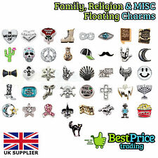 BEST QUALITY Floating Charm For Living Memory Locket *MISC RELIGION FAMILY