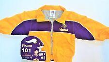 NFL Minnesota Vikings Toddler Windbreaker Jacket 2T +101 First Team-Board Book