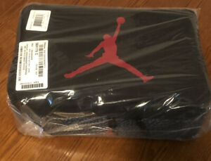 New Jordan The Shoe Box Travel Bag. Black Concrete/Anthracite 100% Authentic