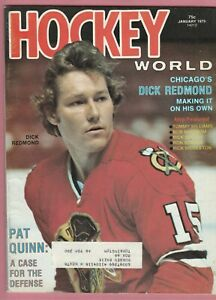 Hockey world Jan 1975 / Dick Redmond