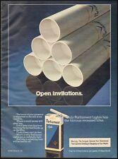 1982 vintage Tobacco AD  Parliament Cigarettes 083015