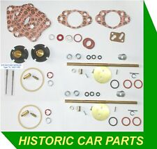 "Jaguar XK150 3.4 1959-62 - MAJOR REBUILD KIT for TWIN HD6 TH 1¾"" SU Carburettors"