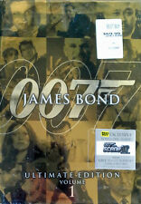 JAMES BOND - ULTIMATE EDITION - VOLUME 1 - (10) DVD BOX SET + BONUS DISC- SEALED