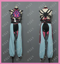 Street Fighter Juri Han Cosplay Costume Custom made Any size