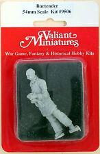 Valiant Miniature 54mm Hobby Kit# 9506 - Bartender - Resin