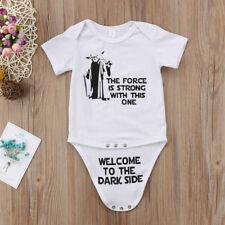 Newborn Star Wars Infant Baby Boy Bodysuit Romper Jumpsuit Clothes Outfits 0-18M
