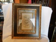 Love Is The Greatest Gift Of All -- Framed & Matted Print Antique finish