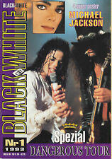 Michael Jackson Black & White #1 German DE Magazine Fanzine 1993
