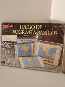 Geosafari Electronico Juego De Geografia Basico Set edicion en espanol