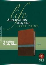Life Application Study Bible NLT, Large Print: By Tyndale