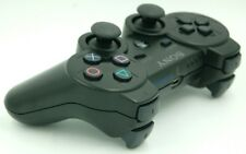 Sony PlayStation 3 PS3 Black Sixaxis Dualshock Wireless Controller Refurbished
