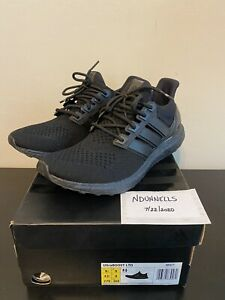 Used Adidas ULTRABOOST LTD Triple Black 1.0 SIZE 9.5