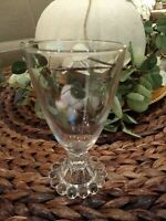 SeT/ 8 VINTAGE Anchor Hocking BOOPIE Candlewick Drinking Glasses~MINT CONDITION