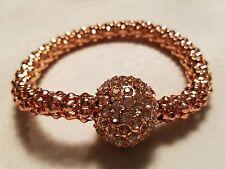 Joan Rivers magnetic disco ball bracelet Rose gold , silver or hematite