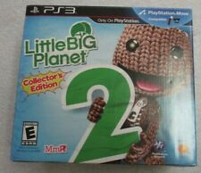 PS3 LITTLE BIG PLANET COLLECTORS EDITION COMPLETE IN BOX PLUSH SACKBOY BOOKENDS