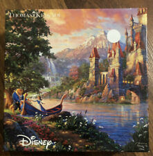 Disney Thomas Kinkade 750 Piece Puzzle Beauty and the Beast II