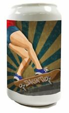 Spardose Fun Skateboard Keramik bedruckt