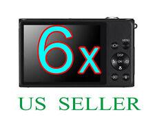 6x Clear LCD Screen Protector Guard Film For Samsung DV300F Camera