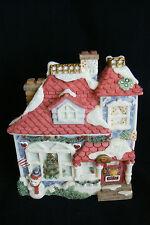 Enesco Cherished Teddies 352667 Cherished Neighbearhood Christmas Decor House