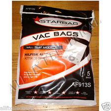 Nilfisk Alto Attix 30 Series Compatible Vacuum Cleaner Bags. Part # AF913S