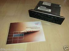 Audi Chorus 8E0 035 152 Autoradio mit Kassette, mit Code-Karte, 2J. Garantie