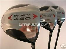 New BIG TALL DRIVERS Driver 3 5 WOOD SET XL GRAPHITE GOLF CLUBS HUGE XXL Fairway