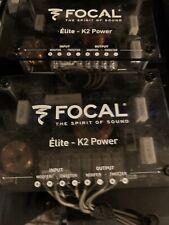 focal eleite K2 Power Crossovers