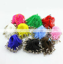 50PCS Mixed Colorful Cell Mobile Phone Dangle Strap/Lariat Lanyard Cord 52mm