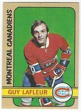 1972-73 TOPPS HOCKEY #79 GUY LAFLEUR 2ND YEAR - VERY GOOD+