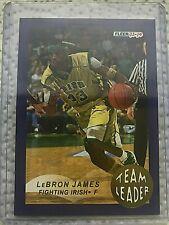 2013-14 Fleer Retro '92-93 Fleer Team Leaders #18 Lebron James