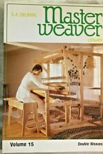MASTER WEAVER LIBRARY, VOLUME15, BY S. A. ZIELNSKI,1983.DOUBLE WEAVES