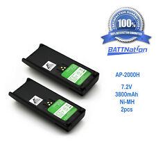 2X 3800Mah Ntn7143 Ntn7144 Battery for Motorola Ht1000 Mts2000 Mt2000 Mtx9000