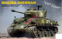 Rye Field Model 5028 1/35 M4A3E8 SHERMAN with workable track links 2019 New RMF
