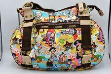LeSportsac Tokidoki Rare Pirate Print Colorful Shoulder Purse Tote Bag Shark