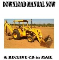 John Deere 310A 310B Backhoe Loader Service Repair Workshop Manual on CD
