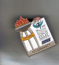 MT  GRAVATT  2000 OLYMPIC AMP TORCH RELAY PIN