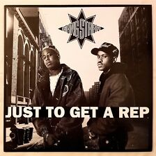 1990 - GANG STARR - JUST TO GET A REP / WHO'S GONNA TAKE THE WEIGHT - ORIGINAL