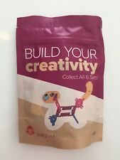 Build Your Creativity Dog or Lizard Wendy's Kids Meal Toy