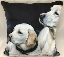 Print of Golden Labradors Evans Lichfield FILLED Cushion