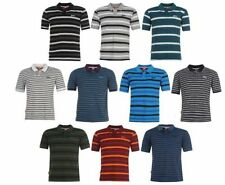 Polyester Striped Casual Shirts for Men