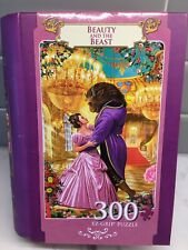 Beauty and the Beast 300 pc Book Box Puzzle EZ Grip Gift Disney