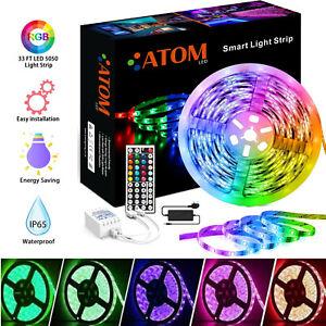 5M LED STRIP LIGHTS 5050 RGB COLOUR CHANGING TAPE UNDER CABINET KITCHEN LIGHTING